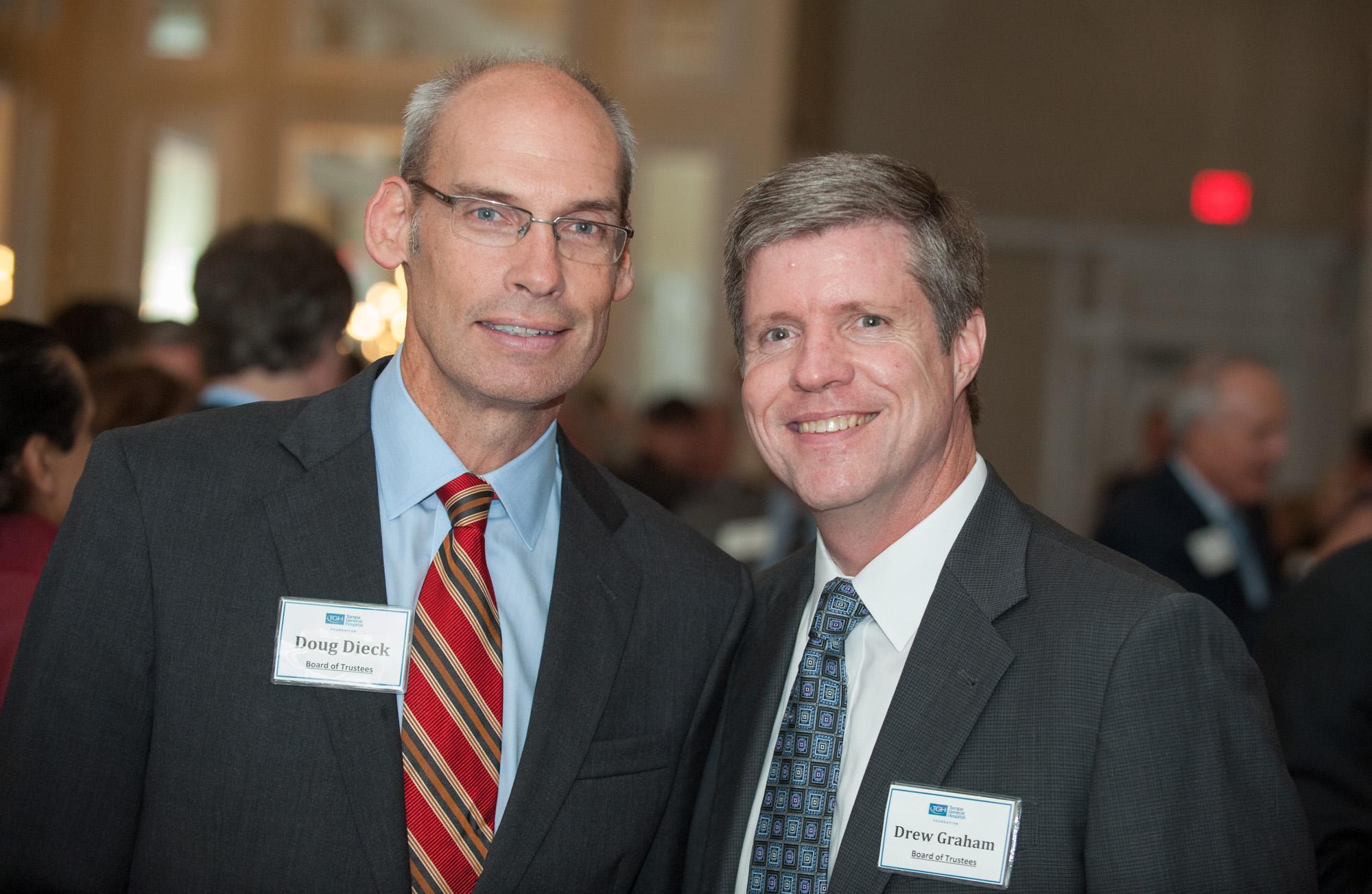 Doug Dieck and Drew Graham