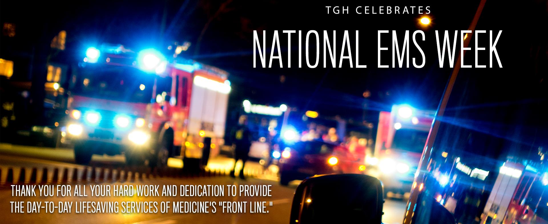 National EMS week