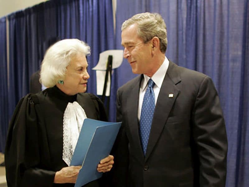 Former Supreme Court Justice Sandra Day Oconnor Has Dementia