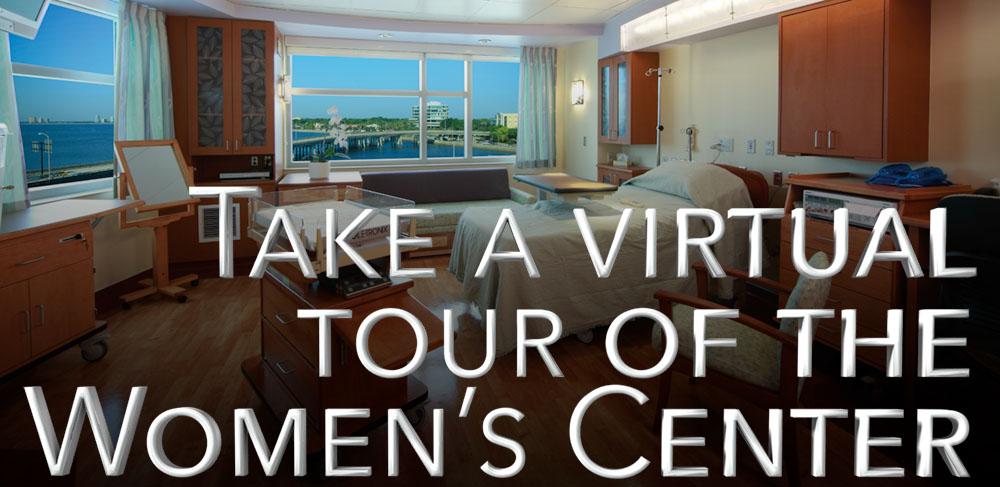 Click to take a virtual tour of the Women's Center