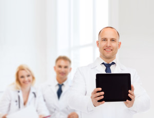 Oncology Doctors Standing In A Room