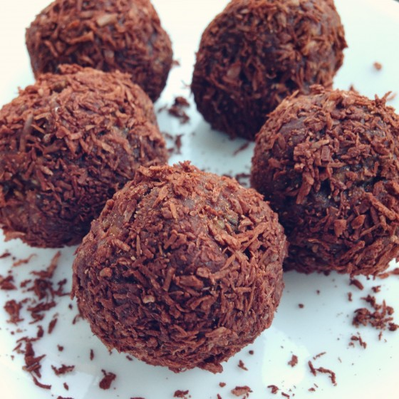 Chocolate Sweet Potato Balls