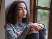 depressed black teen