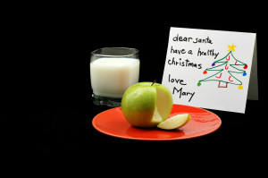 Apple for santa