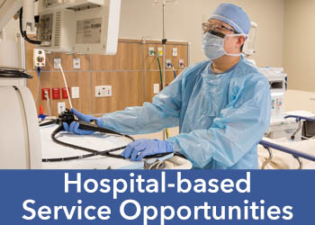 TGH Brandon Healthplex Hospital-based Service opportunities