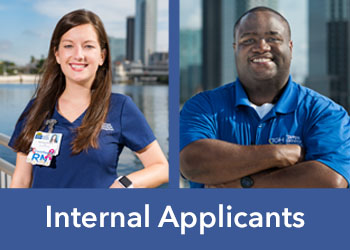 Internal Applicants search jobs and apply