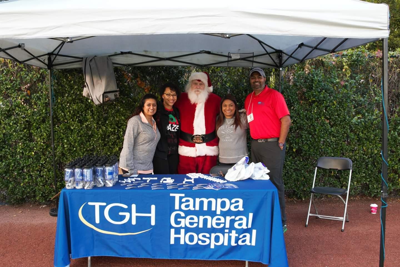 12/7/19 Jingle Bell Run supporting Arthritis Foundation