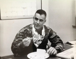 Mitchell as a Marine