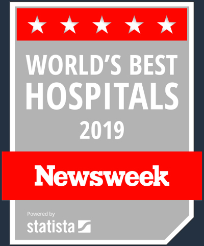 TGH is a World's best hospital ranked by Newsweek