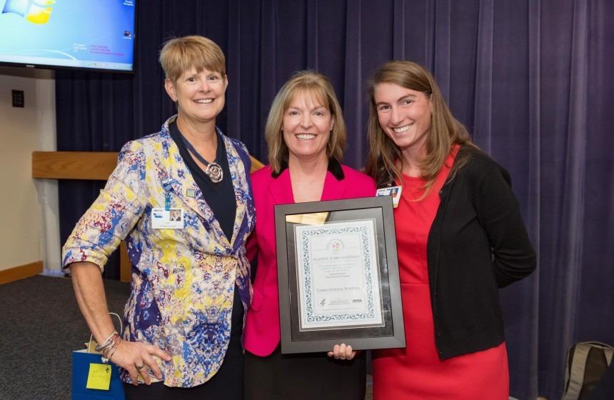 Life Link Tampa General Hospital Platinum Recognition