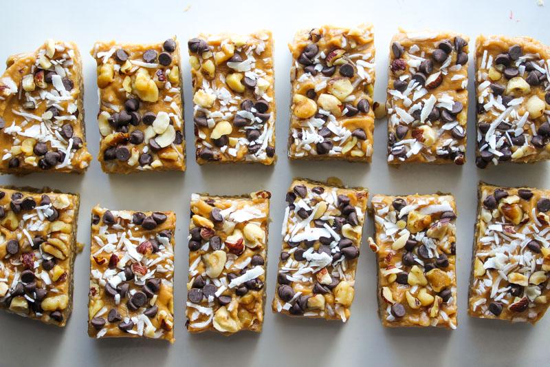 No Bake Peanut Butter Magic Bars