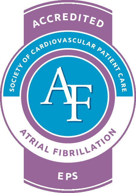atrial fibrillation accredited seal
