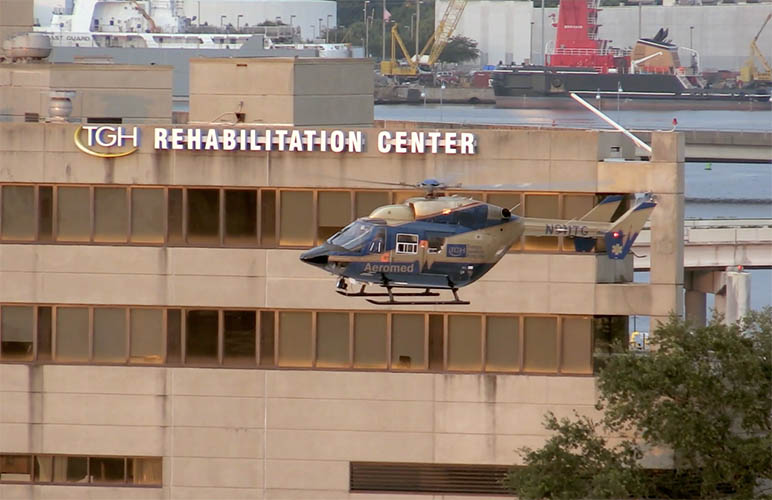 Tampa General Hospital rehabilitation center