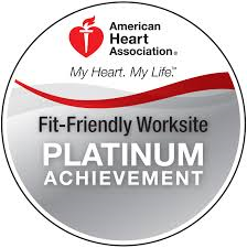 Fit-Friendly Worksite Platinum Achievement seal