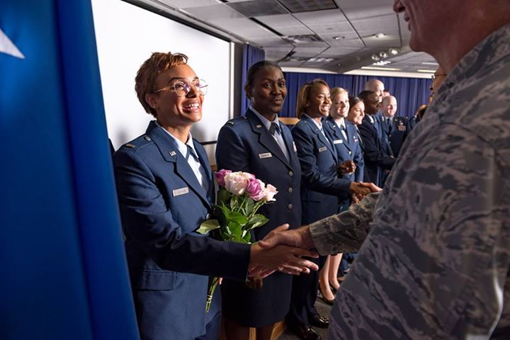19 second lieutenants from the US Air Force Nurse Transition Program graduated from their training time at TGH this week