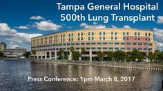 500th lung transplant banner