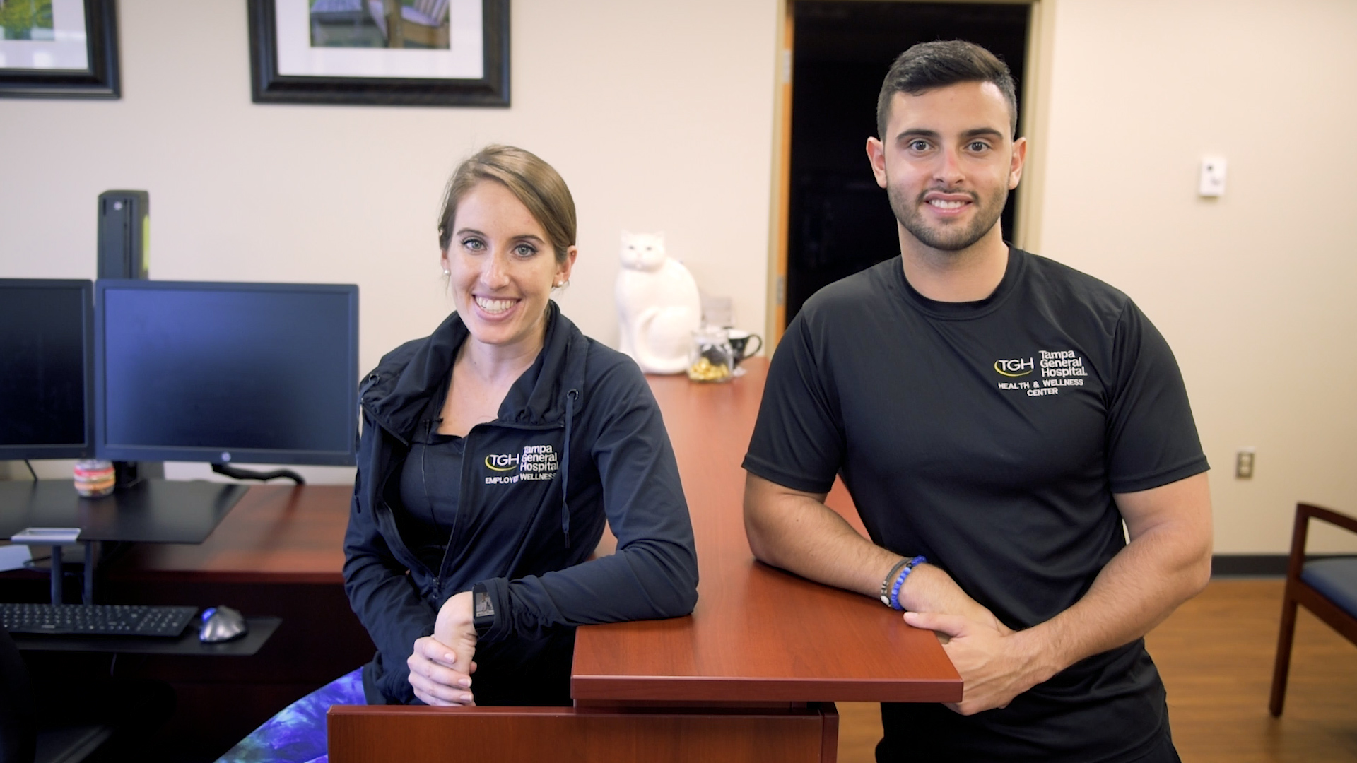 Two Tampa General Hospital wellness physicians