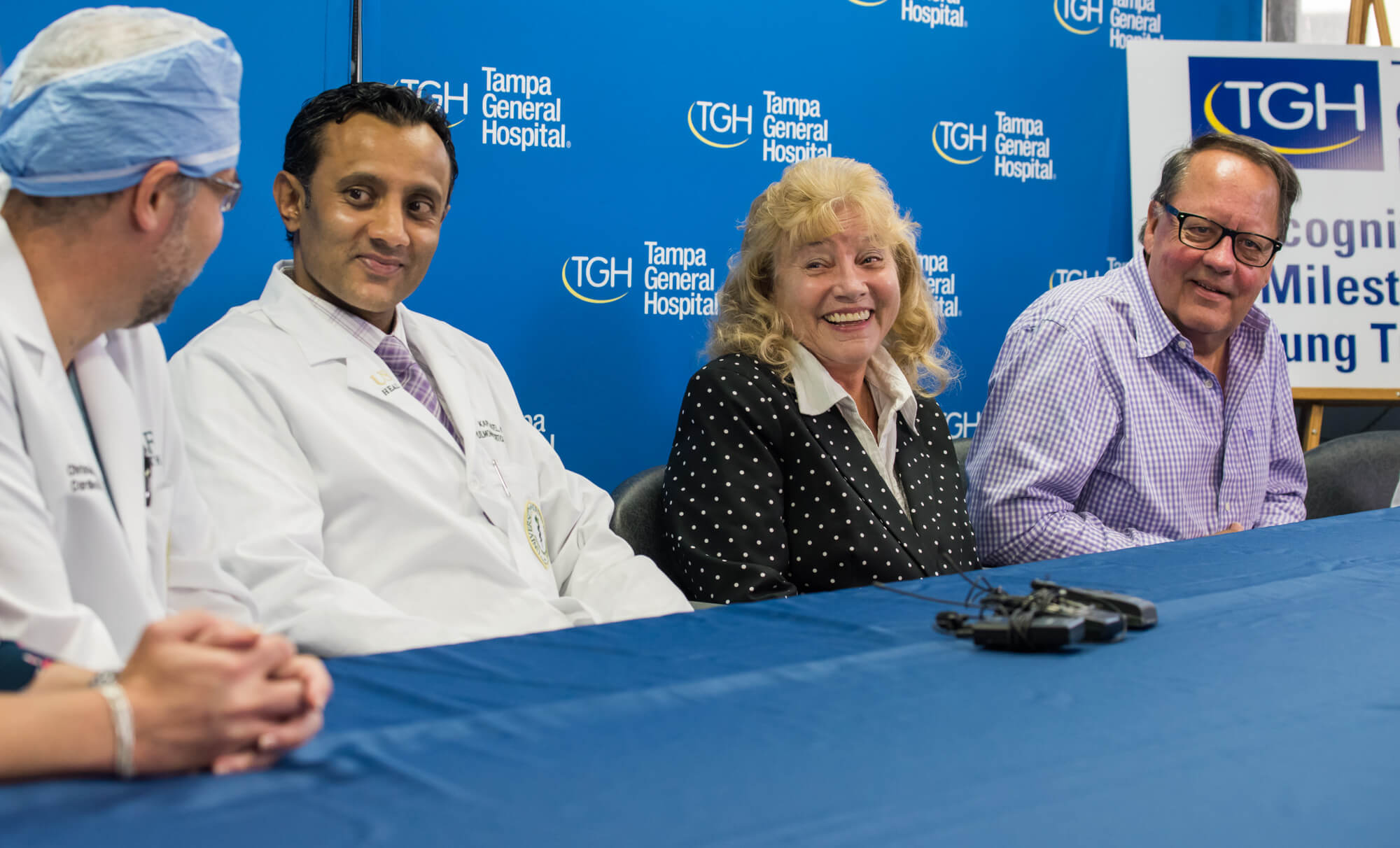 tampa general hospital live stream tgh 500th lung transplant press conference