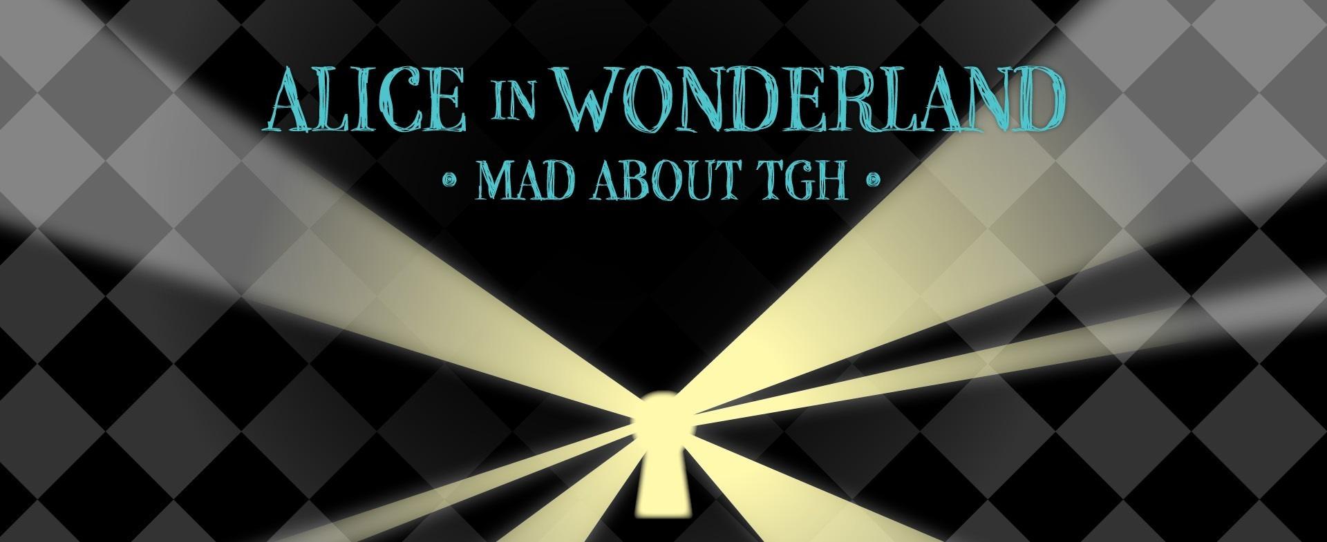 Alice in Wonderland gala header