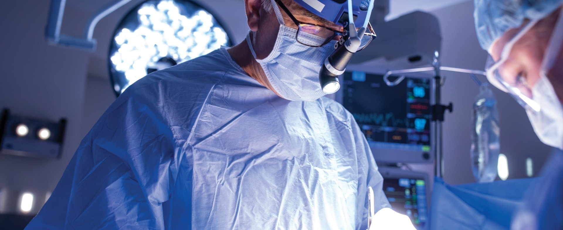 close up image of a TGH surgeon performing surgery