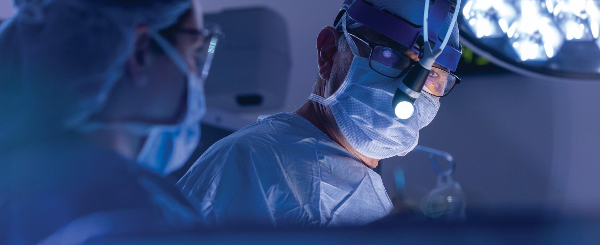 close up image of a TGH surgeon