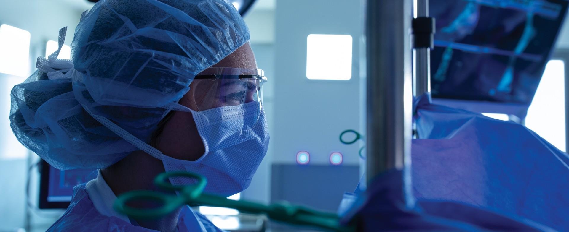close up of a TGH orthopedic surgeon