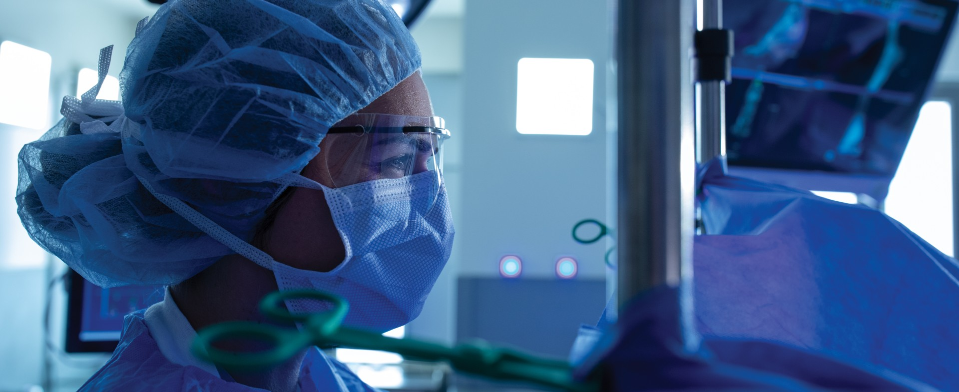 a close up of a TGH orthopedic surgeon