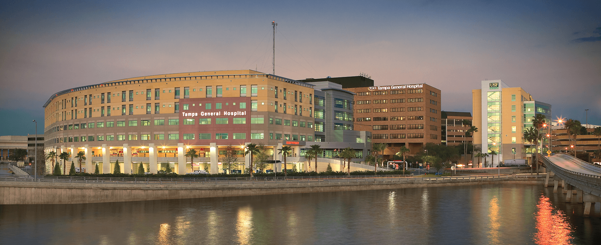 A photo of tampa general hospital