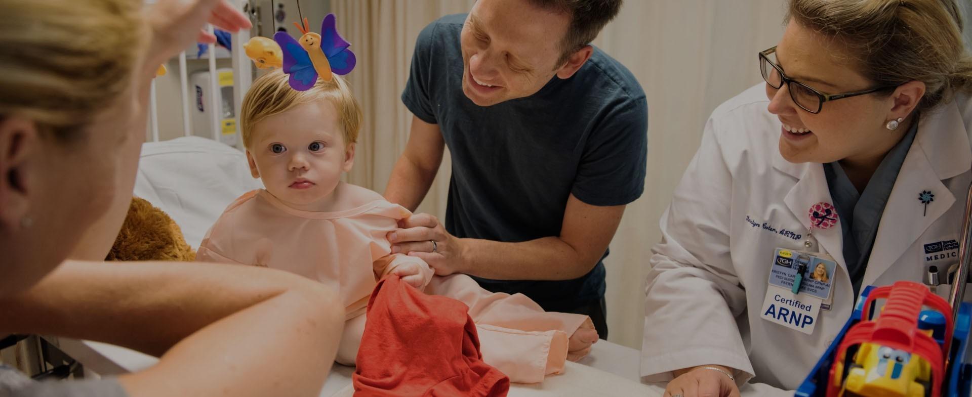 pediatric kidcare sick child day care tampa general hospital