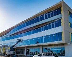 Image of Tampa General Hospital Brandon Healthplex under construction