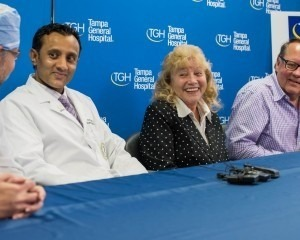 Press conference for 500th lung transplant