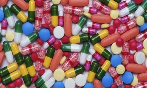Collection of prescription drugs