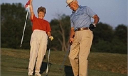golf playing