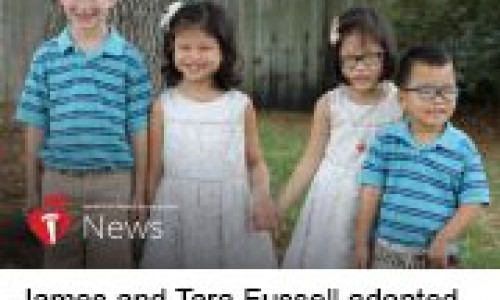 ames and Tara Fussell adopted three children from China, each with a unique heart condition