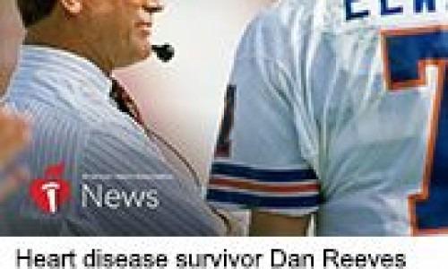 Heart disease survivor Dan Reeves.