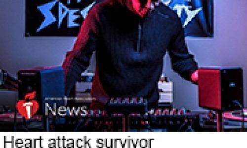 Heart attack survivor Keith Shocklee