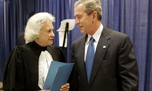 sandra day o'connor and george w. bush