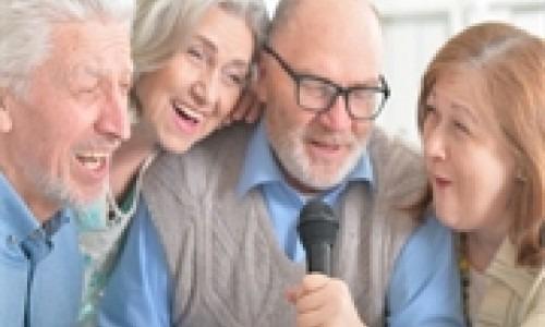 elderly singers