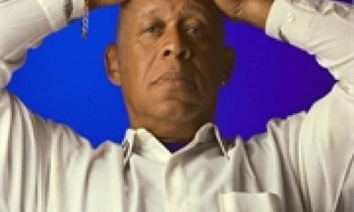 black man in serious mood