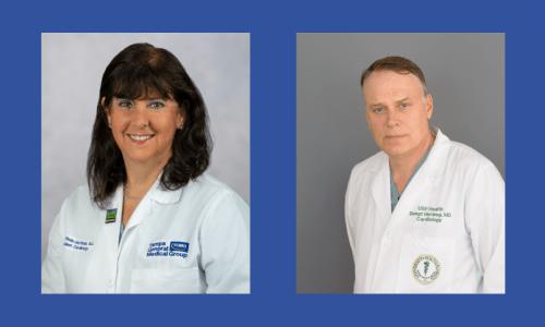 Dr. Debbie Rinde-Hoffman and Dr. Bengt Herweg
