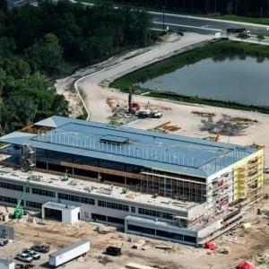 Aerial shot of TGH Brandon Healthplex
