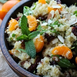 Citrus Mint Quinoa Salad