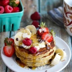 Coconut Flour Pancakes (Paleo)