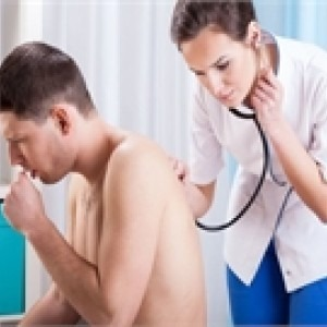 patient coughing