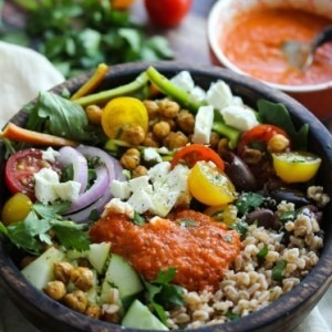 Mediterranean Power Bowl