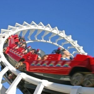 Image of a roller coaster