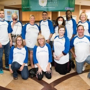 Group of Tampa General Hospital transplant patients
