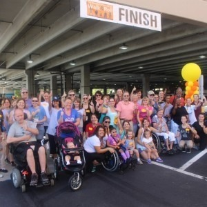 Participants at the Tampa General Hospital Rehabilitation Center Walk and Roll