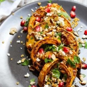Autumn Delicata Squash Salad
