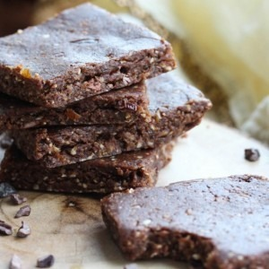 No-Bake Vegan Double Chocolate Peanut Butter Brownies